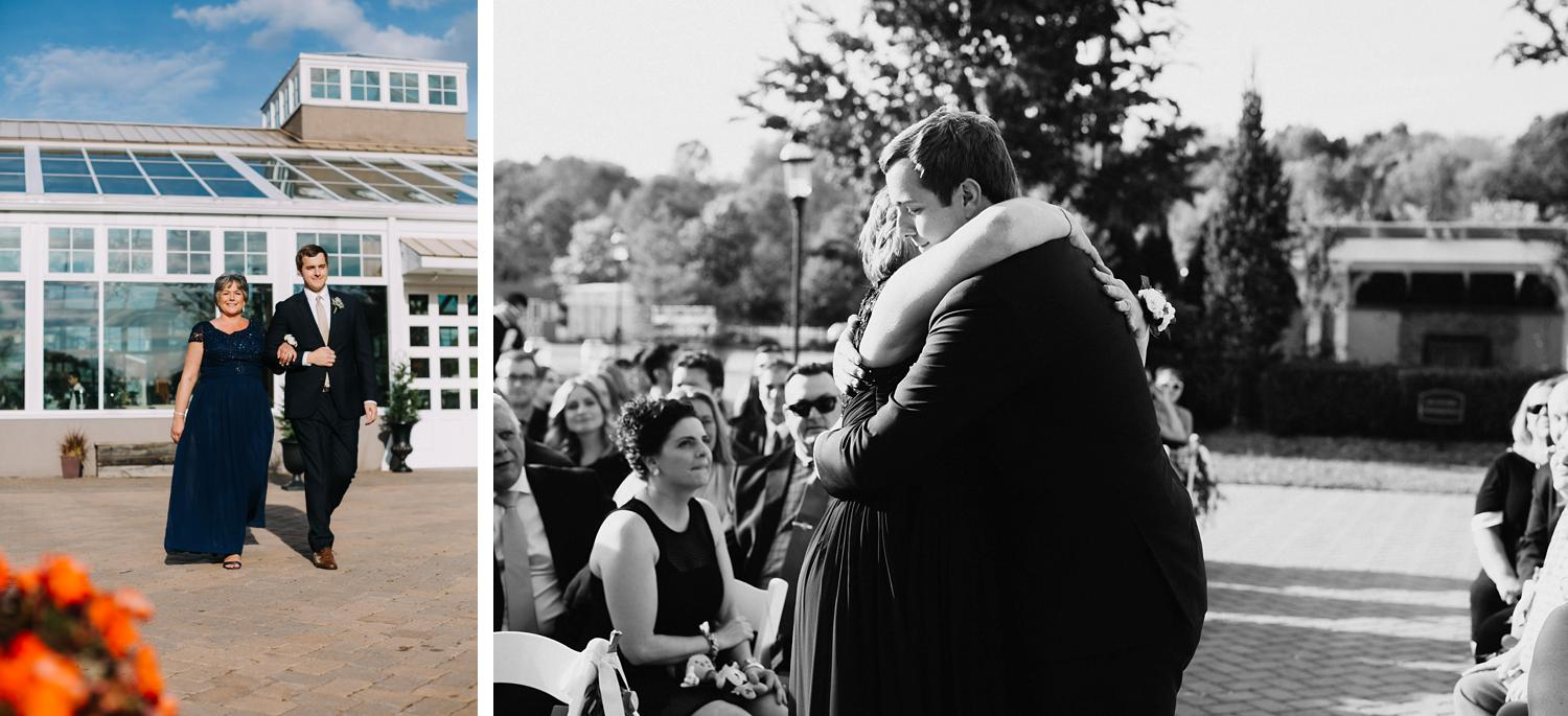 Conservatory Sussex County Fairgrounds Augusta NJ Wedding Photography Steph Massaro Ceremony