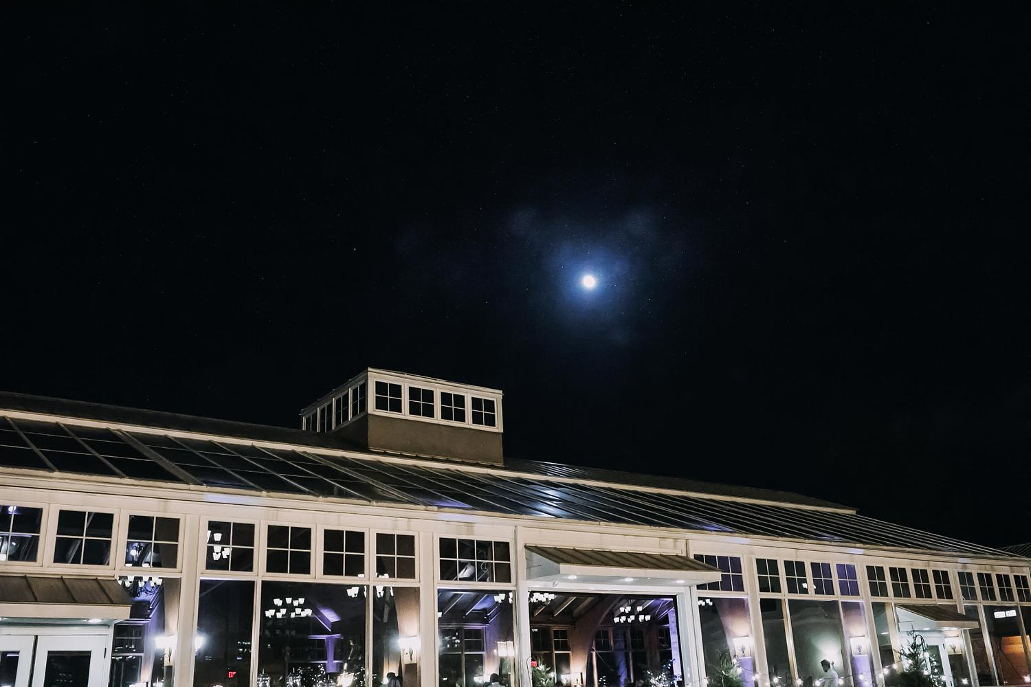 Conservatory Sussex County Fairgrounds At Night Augusta NJ Wedding Photography Steph Massaro