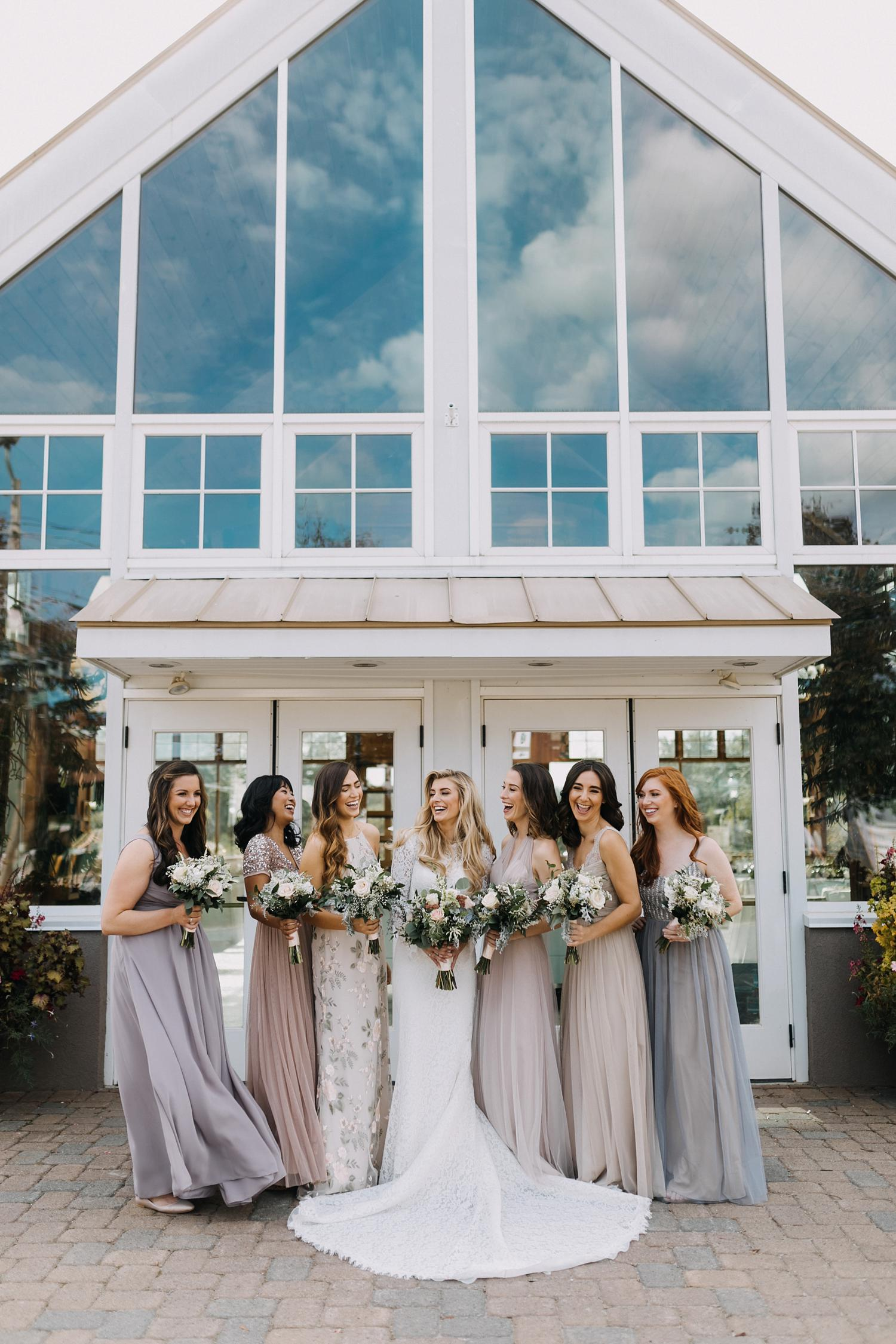 Conservatory Sussex County Fairgrounds Augusta NJ Wedding Photography Steph Massaro Bridal Party