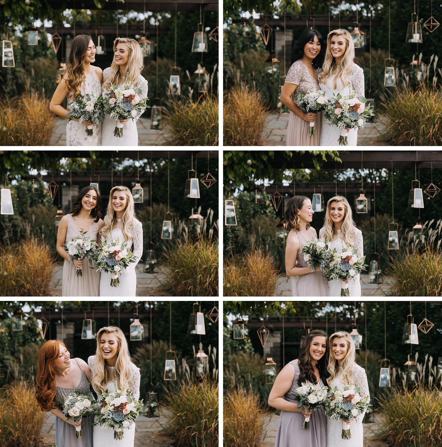 Conservatory Sussex County Fairgrounds Augusta NJ Wedding Photography Steph Massaro bridesmaids