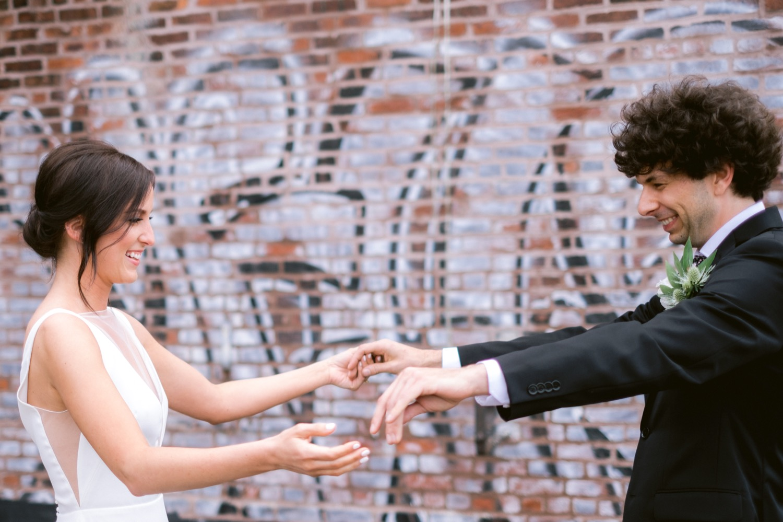 Greenpoint Loft wedding photography Brooklyn