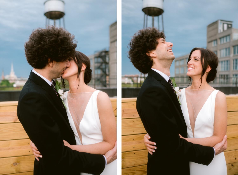 Greenpoint Loft Brooklyn wedding photography